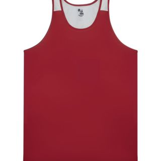 Youth Arrow Mesh Back Singlet Thumbnail